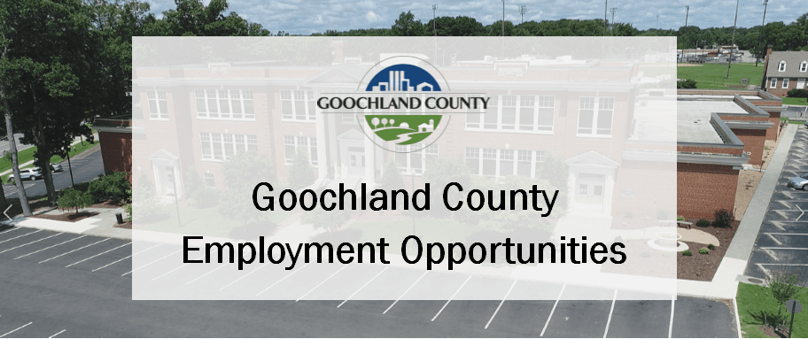 Goochland County - Employment Opportunities 2019