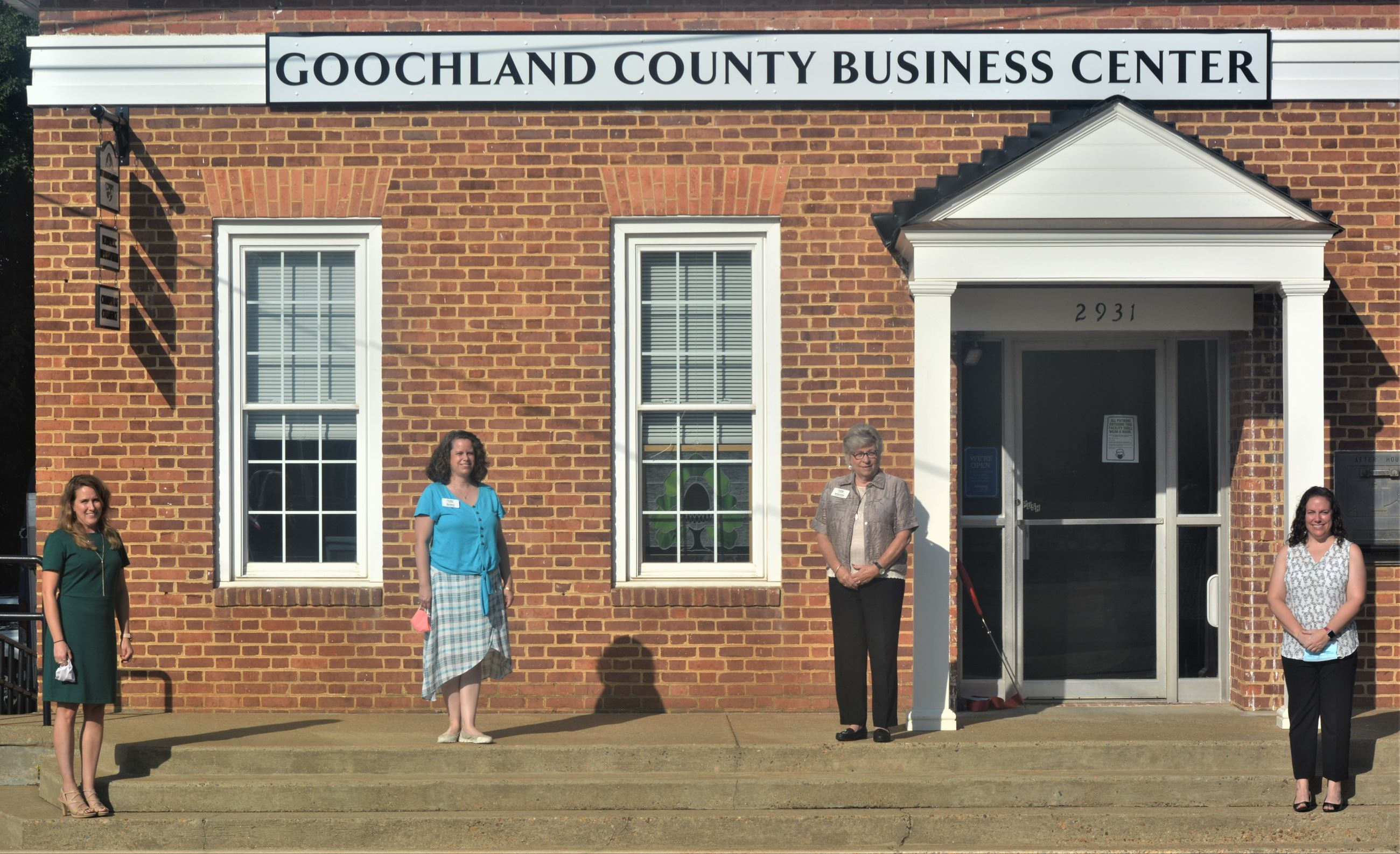 Goochland Business Center Opening - Ribbon Cutting - DSC_0329