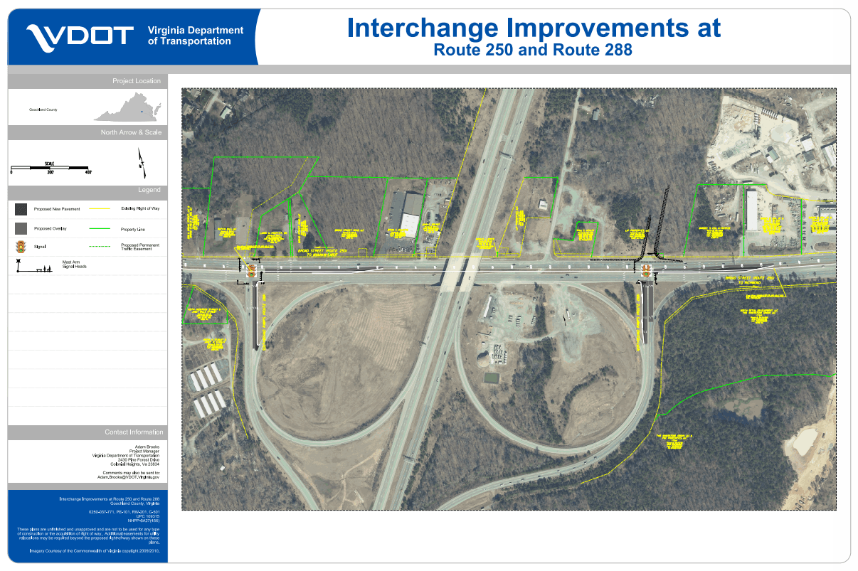 Route 288 and 250 Interchange Improvement Project
