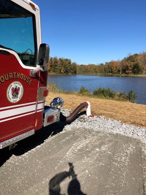 Fire Rescue - Rural Water Supply - Dry Hydrant